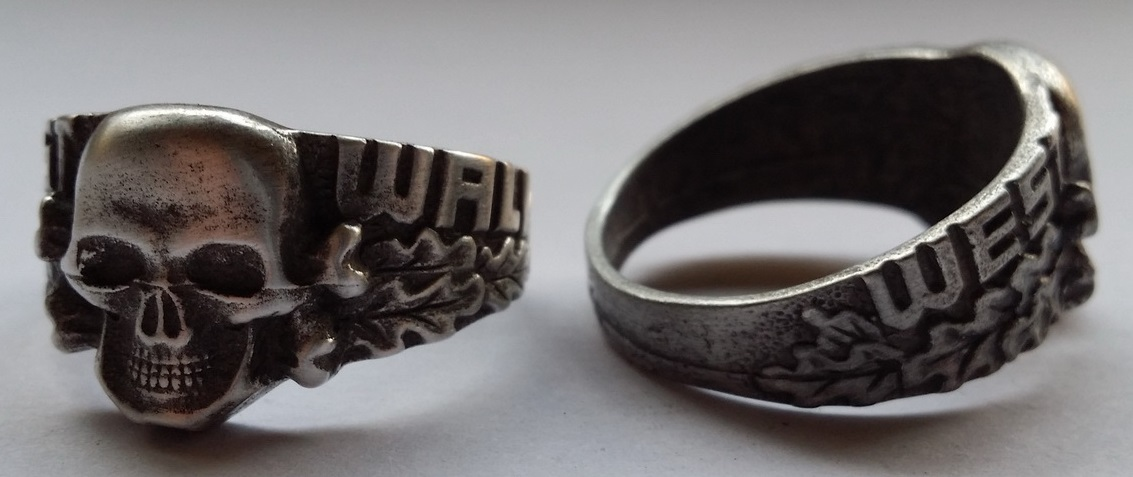 WEST WALL SIEGFRIED LINE RING, 22 mm
