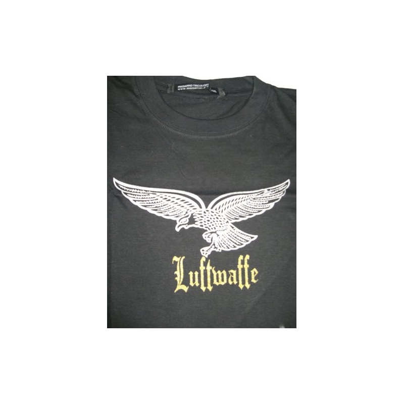Tshirt of cotton, by Fruit of the loom, with logo Luftwaffe