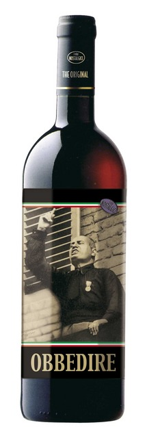 Mussolinis Wein Obbedire, Cabernet 75 cl
