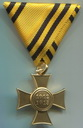MOBILISIERUNGS-ERINNERUNGSKREUZ Commemorative Cross for the mobilization of 1912-1913) Medal size 33x33 mm, with ribbon to clasp