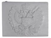Austro-Hungarian M15 belt buckle made of steel in grey paint, it fits a 5 cm wide belts.