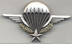 Parachute jump wing, large size, variant, 75 mm wide