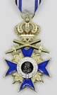 Bavarian Merit gold Cross 3rd Class with Crown and Swords