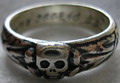 <b>Totenkopf ring</b>, the SS honour's ring, 21 mm