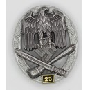 General Assault Badge, 25 actions