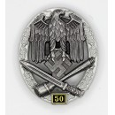 General Assault Badge, 50 actions