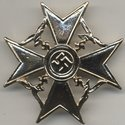 Bronze iron cross wi