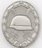 1957 Wound silver badge