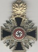2. class, 2nd grade, golden cross with oak leaves and swords (neck Ribbon). The item g24 is the only cross