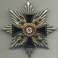 German Cross of NSDAP (Order of the dead) with large backpin