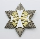 Grand Cross of the Order of the German Eagle with silver Star, 85 mm, flat needle