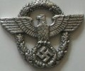 Badge for helmet of the Police of 3rd Reich, left side