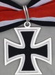 Iron Knights Cross 1957, with riboon 50cm long included