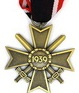 1957 War Merit Cross 2nd Class with Swords, with ribbon 15cm long included