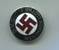 Political propaganda enamelled badge