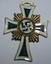 Deoration, cross of the german mothers' 3rd class bronzed
