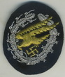 Embroidered paratroopers badge