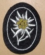 Arm badge with Edelw