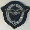 embroidered glider badge