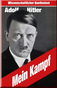 Mein Kampf, Vol.1 and Vol.2, about 800 pages, in German language, original text without notes