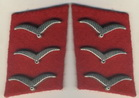 Corporal collar tabs