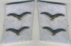 collar tabs Acting Corporal Division Hermann Göring