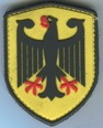 Bundesadler Patch 3D