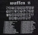 T-shirt of cotton, by Fruit of the Loom, Waffen SS divisions