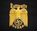T-shirt of cotton, by Fruit of the Loom, Luftwaffe