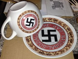 cup and plate Nsdap