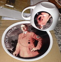 cup and plate Hitler