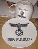 cup and plate Fürher