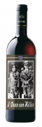 Mussolini and Hitler together, Refosco and Cabernet red wine, cl 75