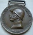 Commemorative Medal of the Italian-Austrian War 1915-1918. Coined in enemy bronze