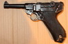 PISTOL LUGER P08 PARABELLUM (WWII) - INERT REPLICA, cm 26, made in Spain<br><a class='evidenza' href='https://www.youtube.com/watch?v=VzY4a2HM-ho' target='_blank'>watch the tutorial</a>