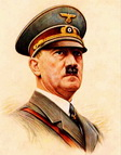 Adolf Hitler, print on A3 laminated photo paper